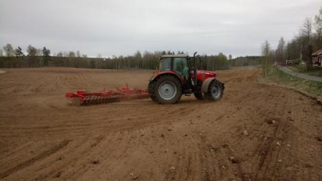 Entreprenad jordbruk