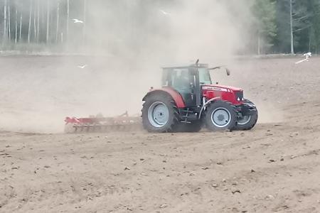 Ekologiskt jordbruk på Boda Gård
